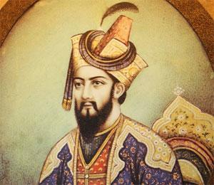 Portrait d'Aurangzeb