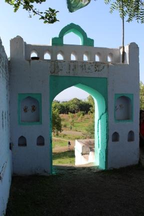 Entrée de la petite mosquée